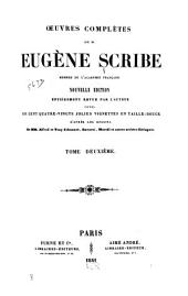 Œuvres complètes de M. Eugène Scribe: Volume2