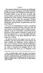 Substance du Discours prononcé à la Maison de ville à Gand ... le 14 juin 1819, lors de la remise solennelle de deux médailles à MM. J.-B. Maes de Gand, et J. Geirnaert d'Eecloo