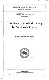 Educational Periodicals During the Nineteenth Century: Issues 21-40