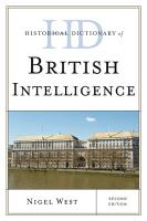 Historical Dictionary of British Intelligence PDF