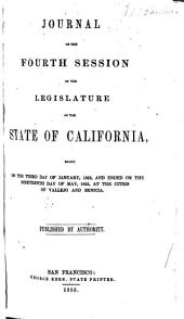Journal of the ... Session of the Legislature of the State of California: Volume 4, Part 1853
