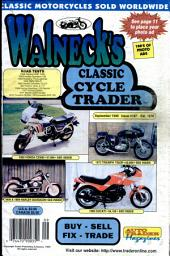 WALNECK'S CLASSIC CYCLE TRADER, SEPTEMBER 1999