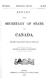 Sessional Papers of the Dominion of Canada: Volume 5, Issue 7; Volume 7