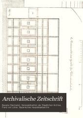 Archivalische Zeitschrift