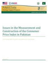 Issues in the measurement and construction of the consumer price index in Pakistan
