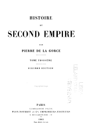 Histoire du Second Empire: Volume 3