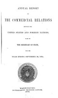 Annual Report on the Commercial Relations Between the United States and Foreign Nations0 PDF