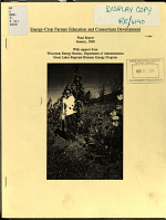 Energy-Crop Farmer Education and Consortium Development