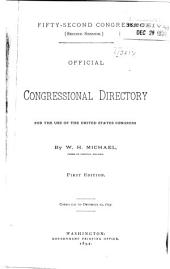 Official Congressional Directory: Volume 52