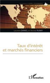 Taux d'interet et marchés financiers