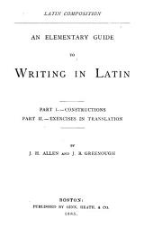 An Elementary Guide to Writing in Latin