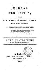 Journal d'éducation [afterw.] Bulletin [afterw.] Journal d'éducation populaire
