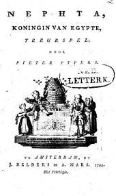 Nephta, koningin van Egypte: treurspel
