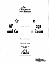 Ap English Language And Composition Book PDF