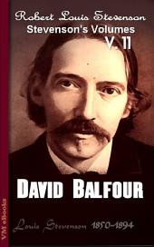 David Balfour: Stevenson's Vol. 11