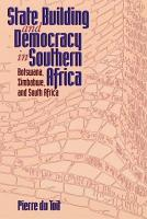 State Building and Democracy in Southern Africa PDF