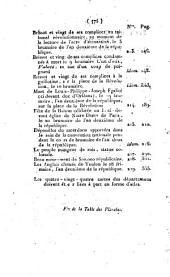 Révolutions de Paris: dédiées à la nation et au district des Petits-Augustins, Numéros208à225