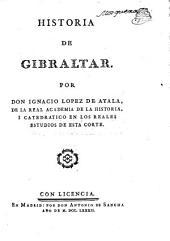 Historia de Gibraltar: Volumen 1
