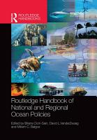Routledge Handbook of National and Regional Ocean Policies PDF