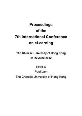 ICEL2012  7th International Conference on E Learning