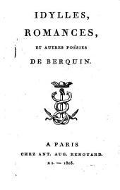 Oeuvres complètes de Berquin: Idylles, romances et autres poesies, Volume14