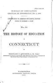 The History of Education in Connecticut: Volume 370