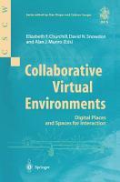 Collaborative Virtual Environments PDF
