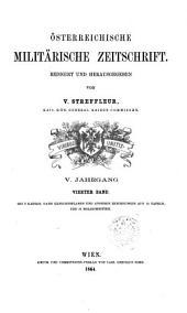 Streffleurs militärische Zeitschrift: Bände 4-5