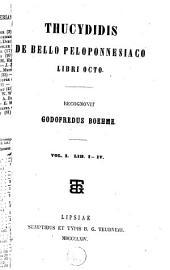De bello Peloponnesiaco libri octo: Τόμος 1