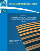 Introductory Mathematical Analysis PDF