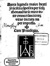 Aurea legenda maior beati Franscisci