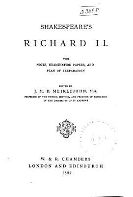 Shakespeare s Richard II PDF