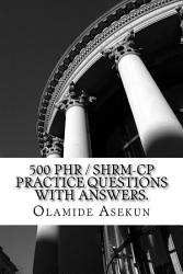 500 Phr Shrm Cp Practice Questions With Answers Book PDF