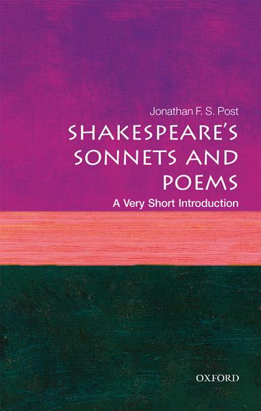 Download Shakespeare s Sonnets and Poems  A Very Short Introduction Book