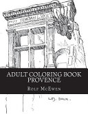 Adult Coloring Book - Provence