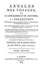Annales des voyages de la géographie et de l'histoire: Volume2