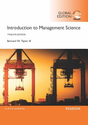 Introduction to Management Science  Global Edition