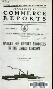 Market for rubber products in the United Kingdom