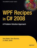 WPF Recipes in C  2008 PDF