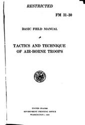 Basic Field Manual: Tactics and technique of air-borne troops