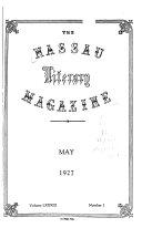The Nassau Literary Magazine