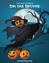 Livro para Colorir de Dia das Bruxas 2