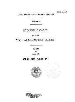 Economic Decisions of the Civil Aeronautics Board PDF