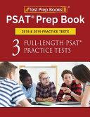 PSAT Prep Book 2018   2019 Practice Tests Book