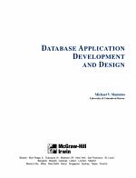 Database Application Development and Design PDF