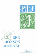 The Ben Johnson Journal PDF