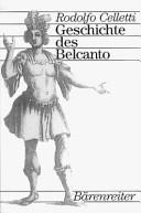 Geschichte des Belcanto PDF