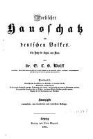 Poetischer Hausschatz des deutschen Volkes PDF