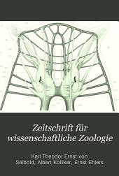 Zeitschrift für wissenschaftliche Zoologie: Band 87