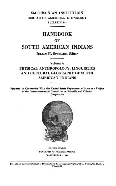 Download Handbook of South American Indians Book